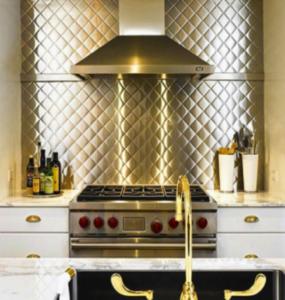 Kitchen Backsplash Ideas  Stainless Steel Backsplash ...