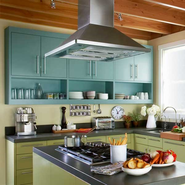 Your Kitchen Island Addition; Lighting and Ventilation | Cornerstone ...