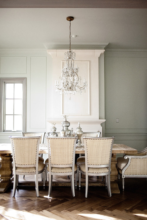 Chandeliers Not Just For Dining Anymore