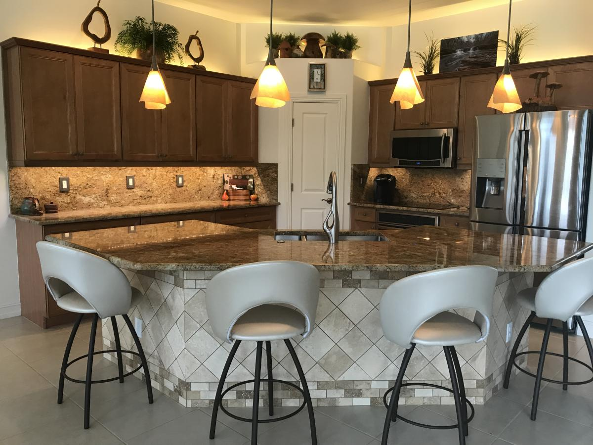 Below Are Just A Few Examples Of The Gorgeous Homes We Have Redesigned By  Installing Granite Countertops In The Southwest Florida Area!