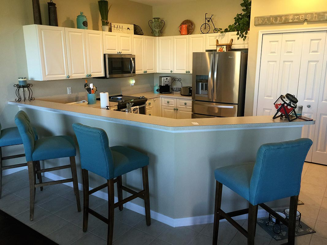 Kitchen photos cornerstone fort myers naples fl for Kitchen cabinets fort myers